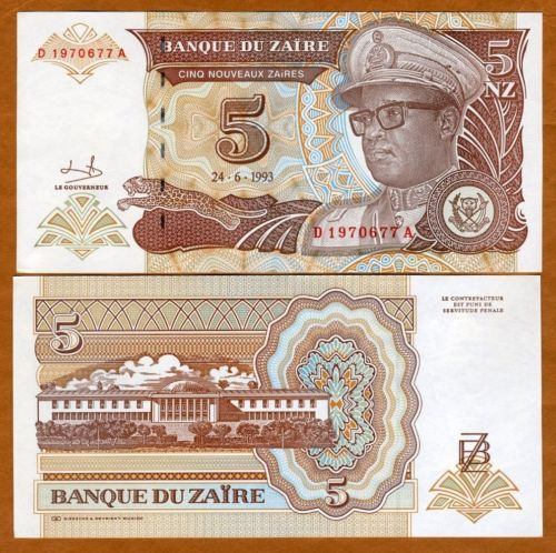 Burundi P-New 5000 Francs 2015 UNC /> New Design /> Water Buffalo